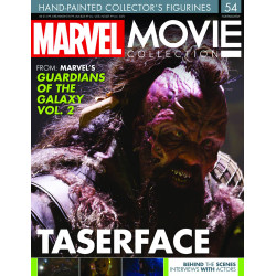 TASERFACE FROM GUARDIANS OF THE GALAXY VOL 2 MARVEL MOVIE COLLECTION RESINE FIGURE NUMERO 48