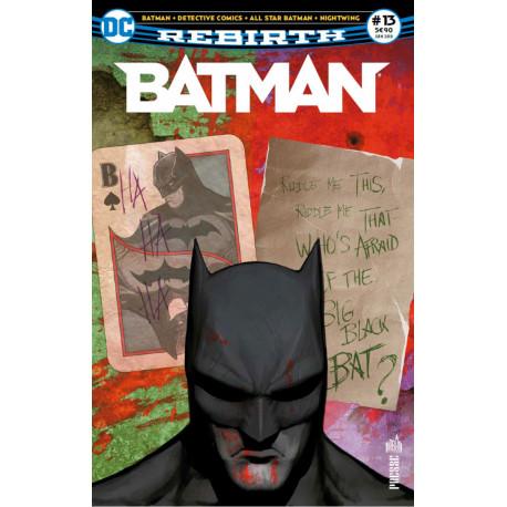 Batman rebirth 13 le sphinx contre le joker album comics - Batman contre joker ...