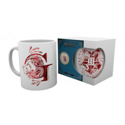 GRYFFINDOR MONOGRAM HARRY POTTER BOXED MUG