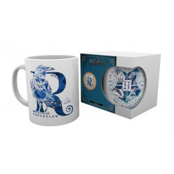 RAVENCLAW MONOGRAM HARRY POTTER BOXED MUG
