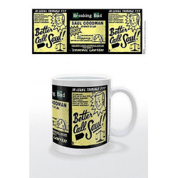 BETTER CALL SAUL MUG BREAKING BAD