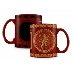 LANNISTER GAME OF THRONES HEAT CHANGE BOXED MUG