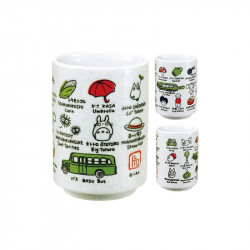 MON VOISON TOTORO LINE UP TEA MUG