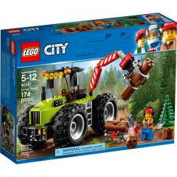 FOREST TRACTOR LEGO CITY 60181