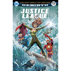 JUSTICE LEAGUE REBIRTH 14 FLASH TOMBE DU COTE OBSCUR !