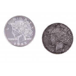DC GALLERY TWO FACE COIN PROP