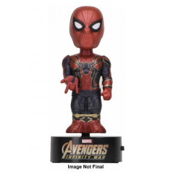 SPIDER-MAN AVENGERS INFINITY WAR BODY KNOCKER BOBBLE FIGURE 16 CM