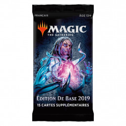 BOOSTER 2019 MAGIC THE GATHERING FRANCAIS
