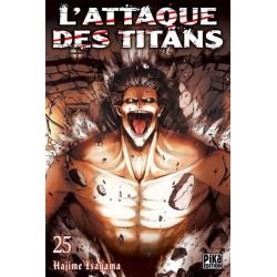 L'ATTAQUE DES TITANS T25