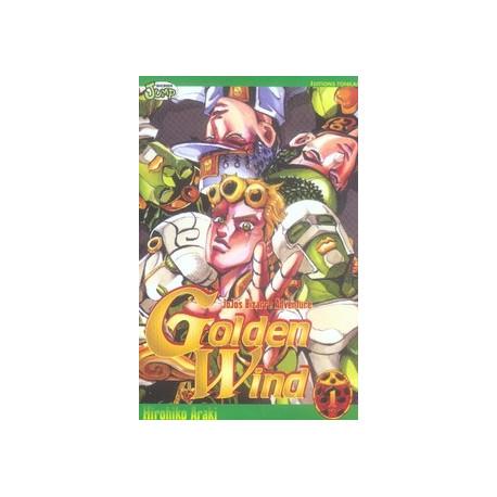 GOLDEN WIND - JOJO'S BIZARRE ADVENTURE -TOME 01-