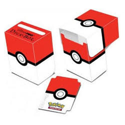 POKEBALL BOITE RANGEMENT POKEMON ULTRA PRO DECK BOX POKEBALL
