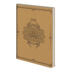 THE LEGEND OF ZELDA A5 FLEXICOVER NOTEBOOK