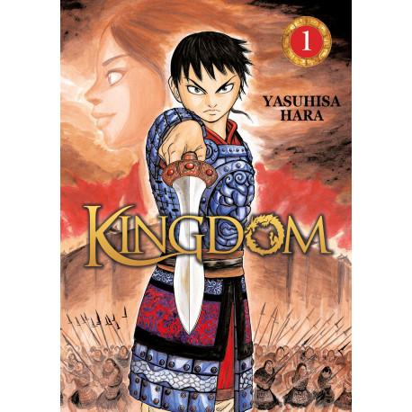 Kingdom Tome 01 Manga Livre