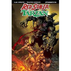 RED SONJA TARZAN 6 CVR D CASTRO