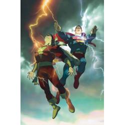 SUPERMAN SHAZAM FIRST THUNDER DLX ED HC