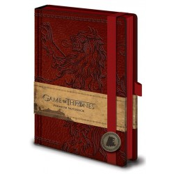 GAME OF THRONES - LANNISTER - A5 NOTEBOOK