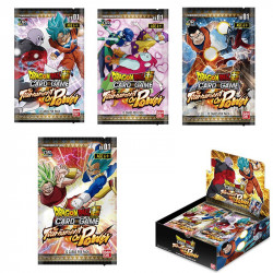 THE TOURNEMENT OF POWER THEME BOOSTER DRAGON BALL SUPER TRADING CARDS