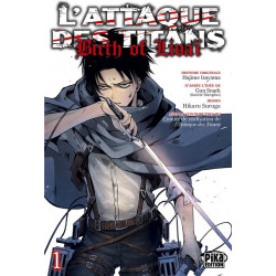 L'ATTAQUE DES TITANS - BIRTH OF LIVAI T01