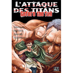 L'ATTAQUE DES TITANS - BEFORE THE FALL T02