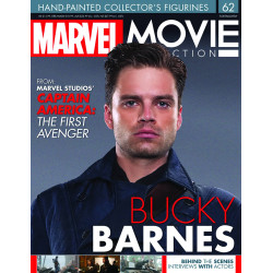 BUCKY BARNES MARVEL MOVIE COLLECTION RESINE FIGURE NUMERO 62