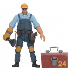 THE INGINEER TEAM FORTRESS 2 SERIE 3.5 ACTION FIGURE