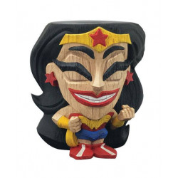 WONDER WOMAN TEEKEEZ STACKABLE VYNIL TIKI FIGURE