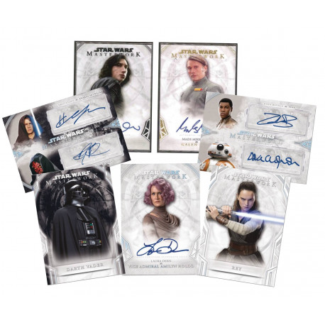 STAR WARS MASTERWORKS TOPPS 2018 TRADING CARDS BOX