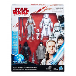BATTLE ON CRAIT STAR WARS THE FORCE AWAKENS 4PACK ACTION FIGURE