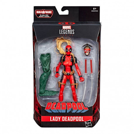 LADY DEADPOOL MARVEL LEGENDS ACTION FIGURE