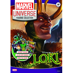 LOKI MARVEL UNIVERSE FIGURINE COLLECTION NUMBER 19