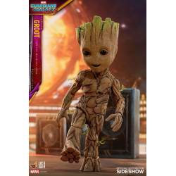 GROOT LIFE SIZE MOVIE MASTE PIECE GUARDIANS OF THE GALAXY 2 ACTION FIGURE