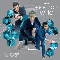 DOCTOR WHO CLASSICS 2019 CALENDAR