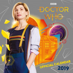 DOCTOR WHO THIRTEENTH 2019 CALENDAR