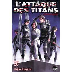 L'ATTAQUE DES TITANS T26 EDITION LIMITEE