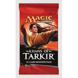 MAGIC THE GATHERING BOOSTER - KHANS OF TARKIR ENGLISH VERSION - BOOSTER