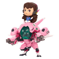 D.VA WITH MEKA OVERWATCH CUTE BUT DEADLY VYNIL FIGURE
