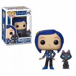 CORALINE WITH CAT CORALINE POP! ANIMATION VYNIL FIGURE