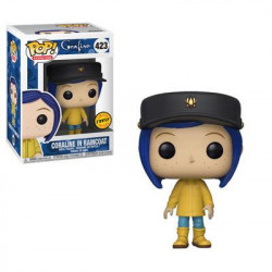 CORALINE IN RAINCOAT CHASE CORALINE POP! ANIMATION VYNIL FIGURE