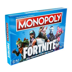 FORTNITE MONOPOLY BOARD GAME ENGLISH