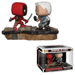 DEADPOOL VS CABLE MARVEL COMIC MOMENTS POP! VYNIL FIGURE