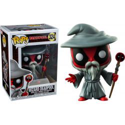 DEADPOOL AS WIZARD EXCLUSIVE MARVEL POP! VYNIL FIGURE