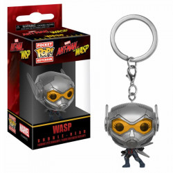 WASP ANT-MAN AND THE WASP MARVEL POCKET POP VINYL FIGURE KEYCHAIN
