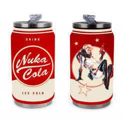 NUKA COLA FALLOUT STAINLESS STEEL CAN