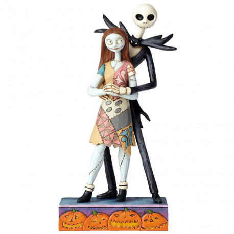 NIGHTMARE BEFORE CHRISTMAS FATED ROMANCE DISNEY TRADITIONS STATUE