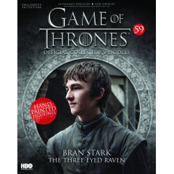 BRAN STARK THE THREE-EYES RAVEN GAME OF THRONES COLLECTION NUMERO 59