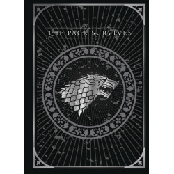 STARK GAME OF THRONES 3D POP-UP CARD