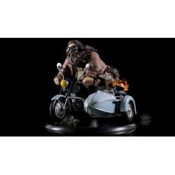 HARRY POTTER AND RUBEUS HAGRID LIMITED EDITION QFIG FIGURE