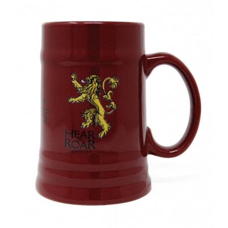 LANNISTER GAME OF THRONES CERAMIC STEIN