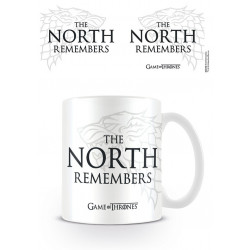 STARK THE NORTH REMEMBERS GAME OF THRONES BOXED MUG