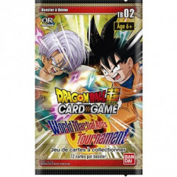 WORLD MARTIAL ARTS TOURNAMENT BOOSTER DRAGON BALL SUPER TRADING CARDS